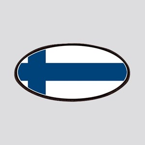 Finnish Flag Patches
